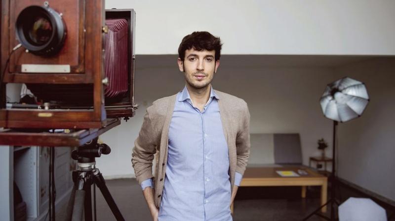 Jesús Madriñán, ganador del  V Premio a la Producción Artística Fundación Banco Santander-Open Studio