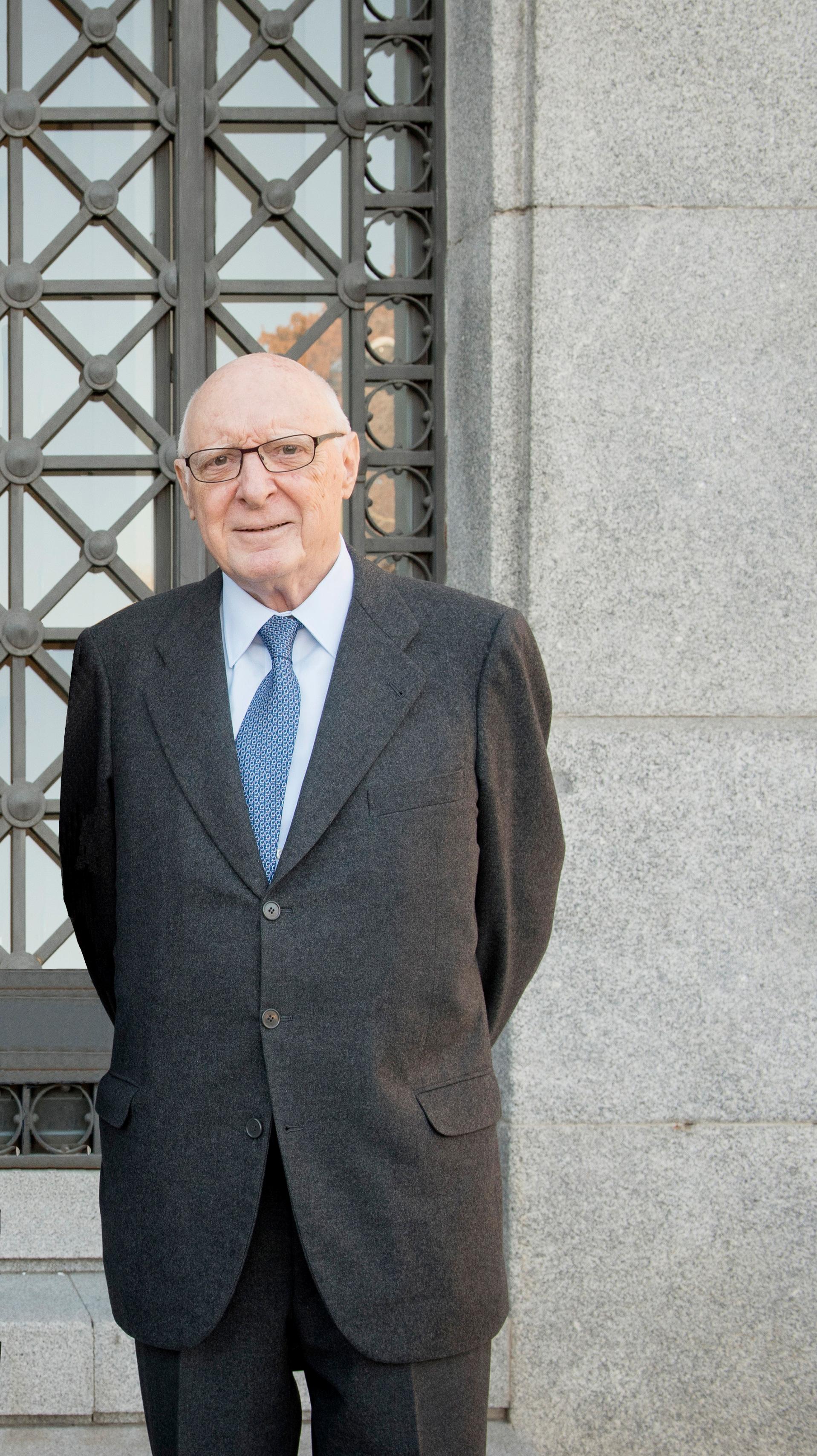 José Pedro Pérez-Llorca, presidente del Real Patronato. Museo Nacional del Prado