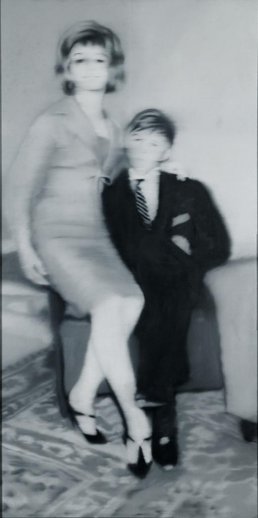 Gerhard Richter. Helga Matura with fer fiancé, 1966. Museum Kunst Palast, Düsseldorf