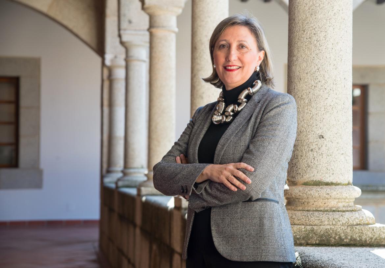Trinidad Nogales, directora del Museo Nacional de Arte Romano