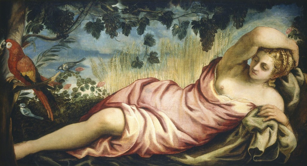 Jacopo Tintoretto. Verano, hacia 1555. National Gallery of Art, Washington