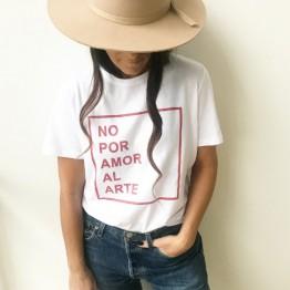 #NOPORAMORALARTE, la camiseta que viste proyectos creativos
