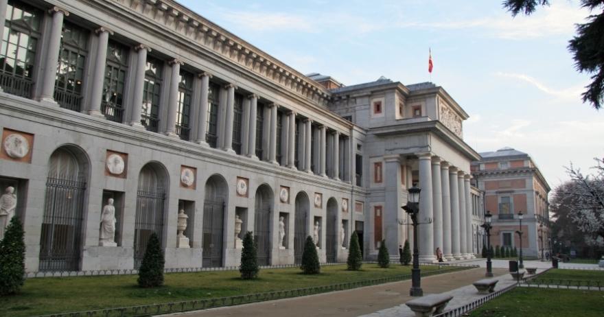 Sede del Museo Nacional del Prado, en el Paseo del Prado