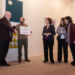 Antonio Ballester Moreno, ganador de Premio ART Situacions en ARCOmadrid 2017