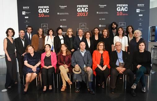 Premiados con los GAC 2017