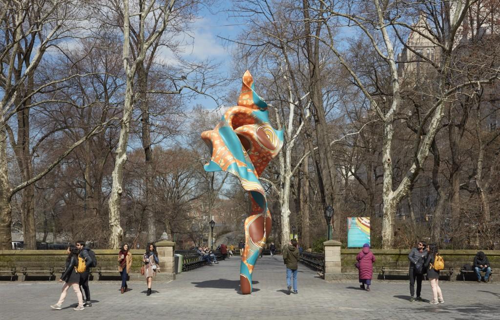 Yinka Shonibare. Wind Sculpture (SG), I, 2018