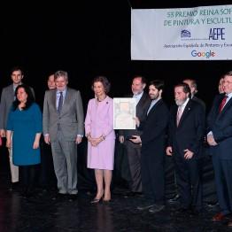 Pedro Quesada, Premio Reina Sofía de Pintura y Escultura