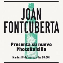 Joan Fontcuberta presenta su nuevo PhotoBolsillo