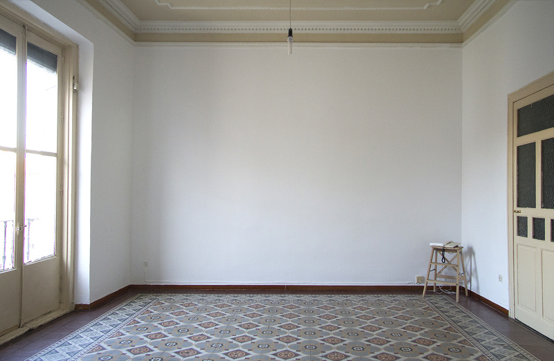 Puerta abierta en el cuarto de invitados - Habitacion de invitados ...