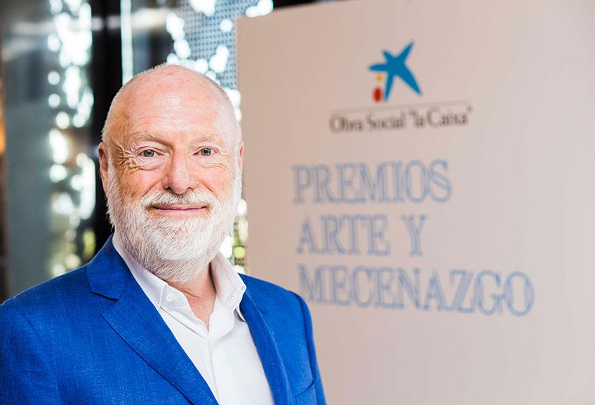 """Han Nefkens recibe el Premio Arte y Mecenazgo de """"la Caixa"""" 2017 en la categoría Mecenas"""