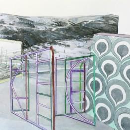 Ricardo González. Sin título (serie: Arquitecturas efímeras), 2013