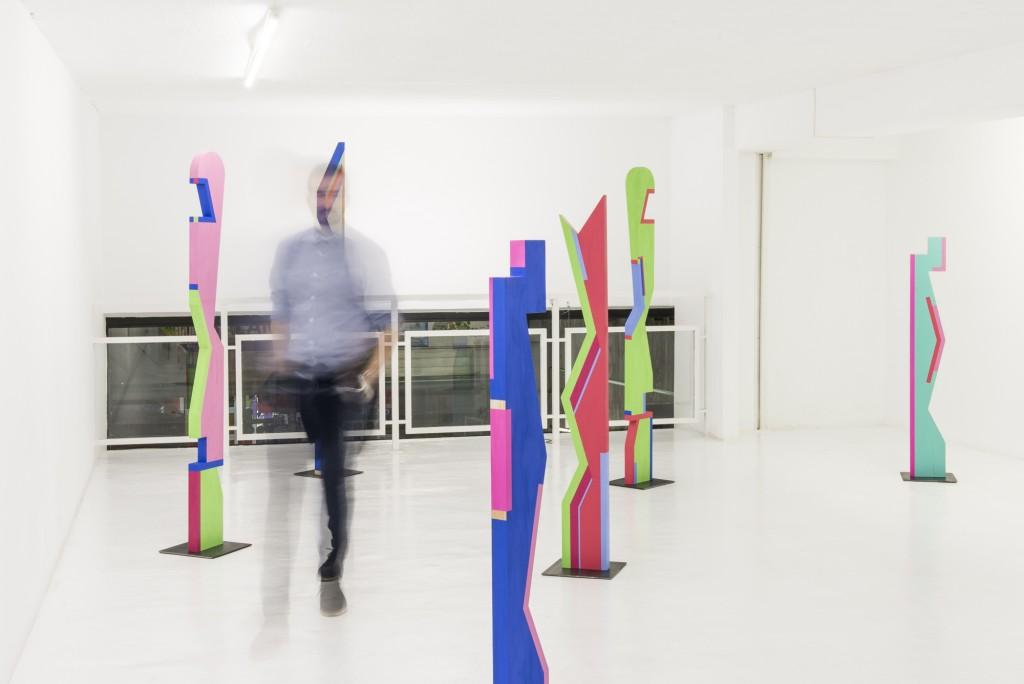 Rubén Fernández Castón. Instalación Sin Fin. Espacio NUCA