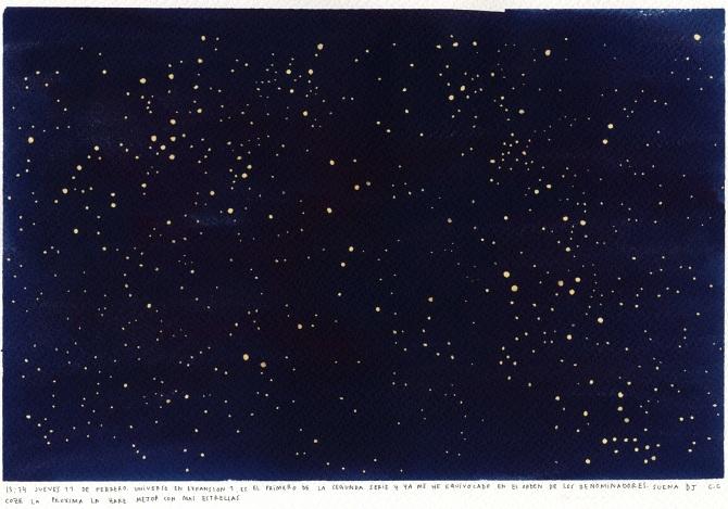Clara Cebrián. Expanding Universe 1