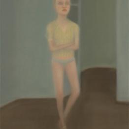 Chechu Álava. retrato azul, 2009