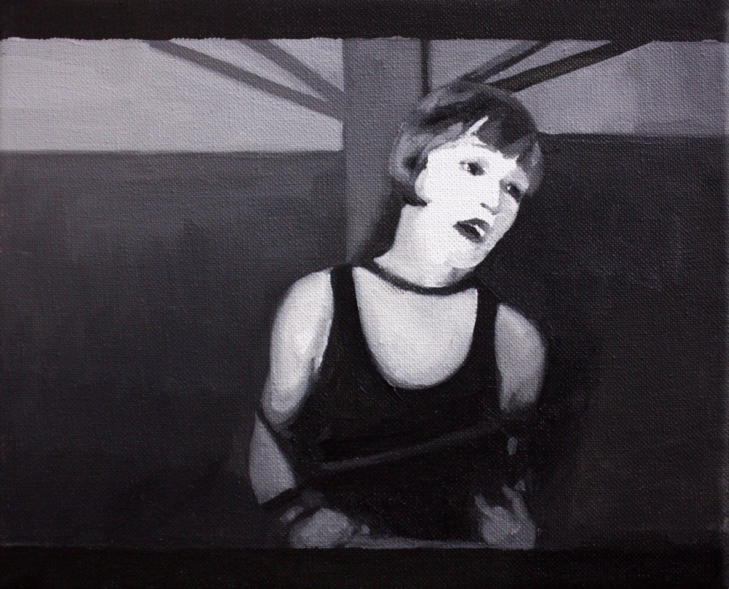 Cristina Toledo. Censurada I, 2013. Serie Oscuridad cegadora