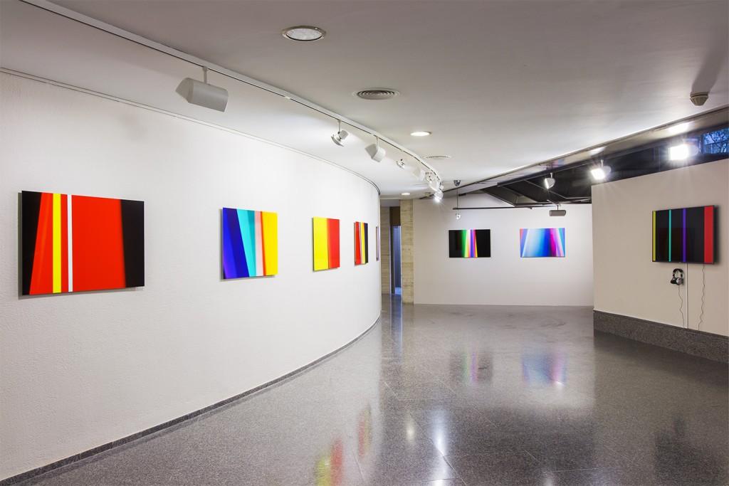 Jorge Isla. Sputtering. Instalación en la Bienal de Córdoba, 2017