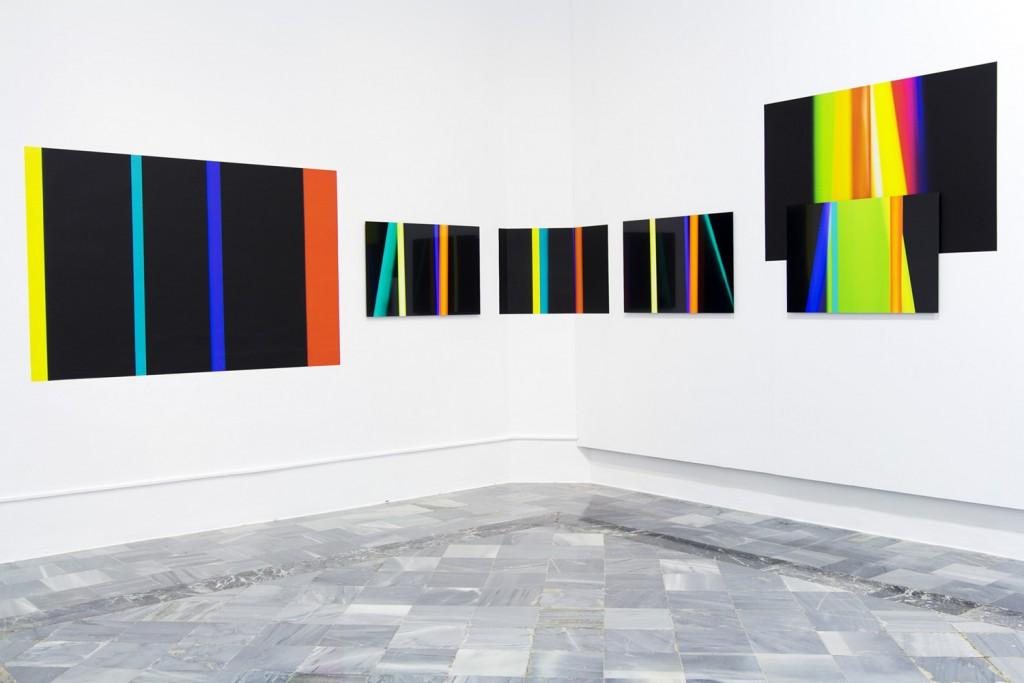Jorge Isla. Sputtering. Instalación en el Centro del Carmen de Valencia, 2016