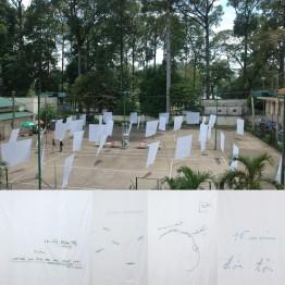 Alba Navas Salmerón. Dream collector (el colector de sueños), julio-agosto 2006, Ho Chi Minh, Vietnam. A+A Public Art Unit: Alba Navas Salmeron & Ayumi Matsuzaka