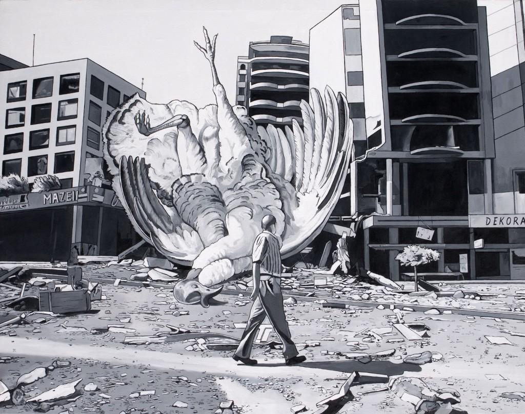 Óscar Seco. Fallen from sky, 2010