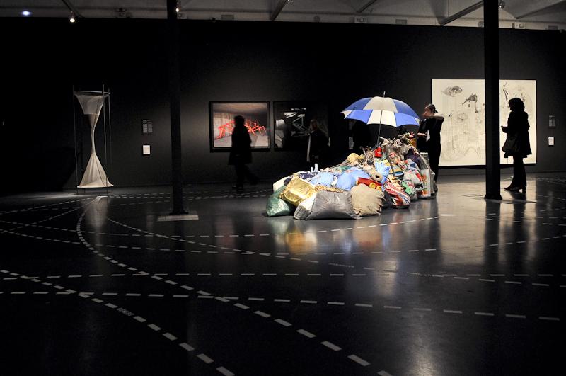 Vista de Arte Ficción. CaixaForum Barcelona