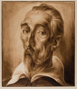 Martí-Ramón Durbán Bielsa. Retrato de Don Quijote. BNE