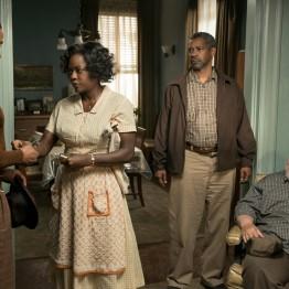 Fences, película de Denzel Washington (2016) Oscar mejor actriz secundaria Viola Davis.