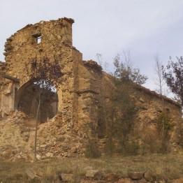Iglesia abandonada de Sarnago, Soria