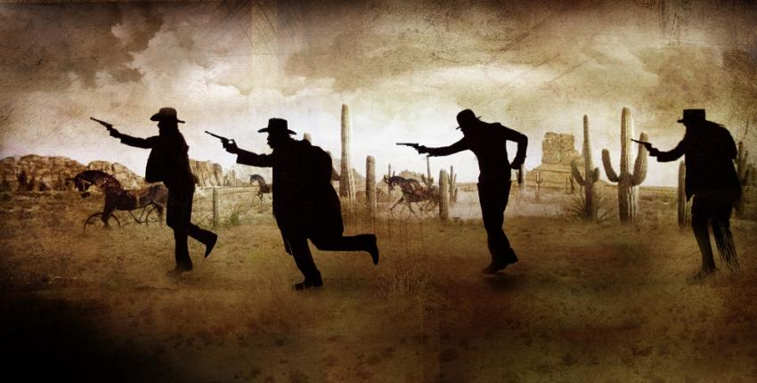 DEADTOWN, The Forman Brothers' Wild West Show