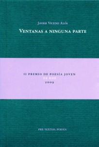 Javier Vicedo. Ventanas a ninguna parte.  Poetas españoles
