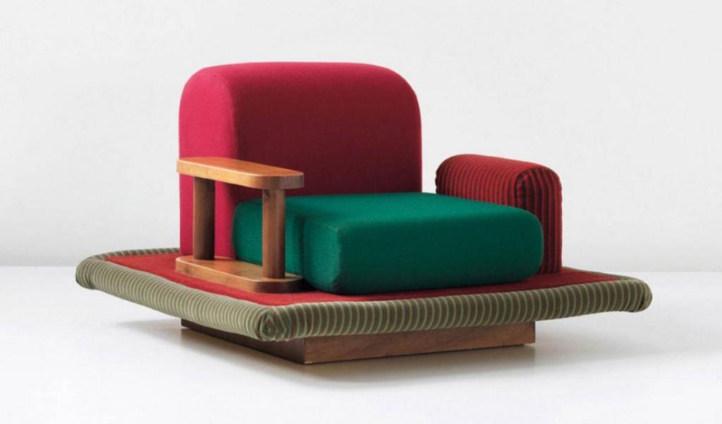 Ettore Sottsass. Sillón Fliyng Carpet