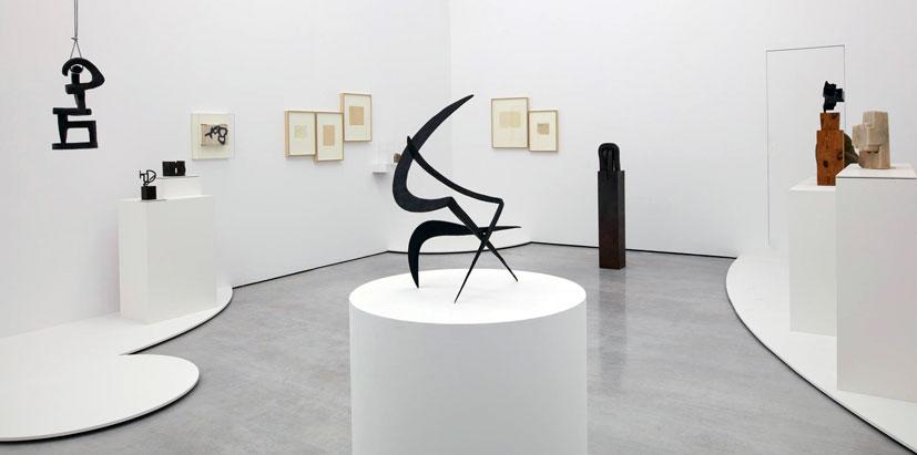 Galeria Cayon. Blanca de Navarra, Madrid. Exposición Chillida, 2016