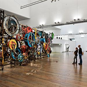 Museos de Suiza. Museo Tinguely, Basilea
