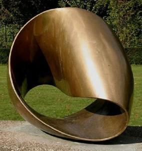 Max Bill. Torsión infinita, 1953-1956