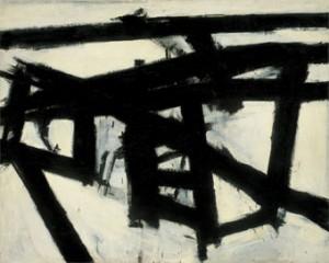 Franz Kline. Mahoning, 1956