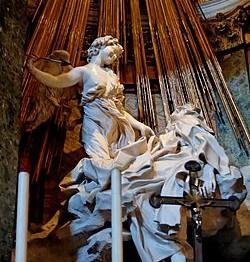 Bernini. El éxtasis de Santa Teresa