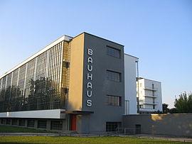 Sede de la escuela Bauhaus en Dessau