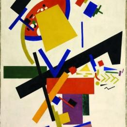 Kazimir Malevich. Composición suprematista, 1915
