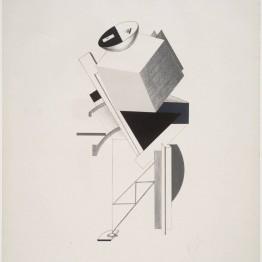 El Lissitzky. 3. Postman, 1923