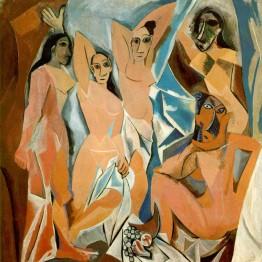 Cubismo: Autor: Picasso. Las señoritas de Aviñón