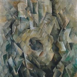 Georges Braque. La guitarra, 1909