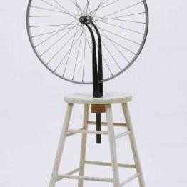 Marcel Duchamp. Bicycle Wheel, 1913