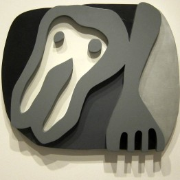 Hans Arp. Shirt Front and Fork, 1922