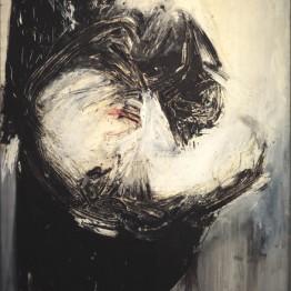 Rafael Canogar. Metamorfosis de Drácula, 1960