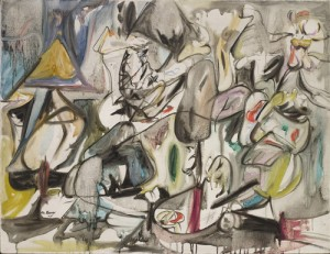 Arshile Gorky. The Leaf of the Artichoke Is an Owl, 1944