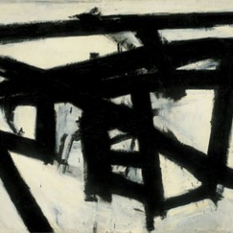 Expresionismo abstracto. Franz Kline. Mahoning, 1956