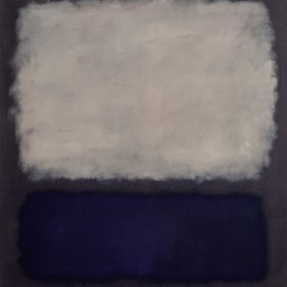 Mark Rothko. Blue and gray