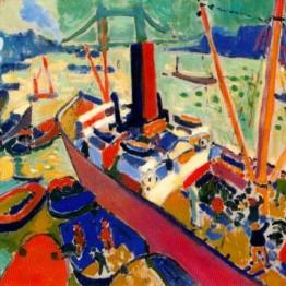 André Derain. Puerto de Londres, 1906