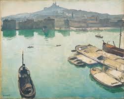 Albert Marquet. Port of Marseilles, 1916