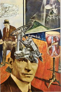 Raoul Hausmann. Tatlin en casa, 1920