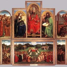Van Eyck. Políptico del Cordero Místico